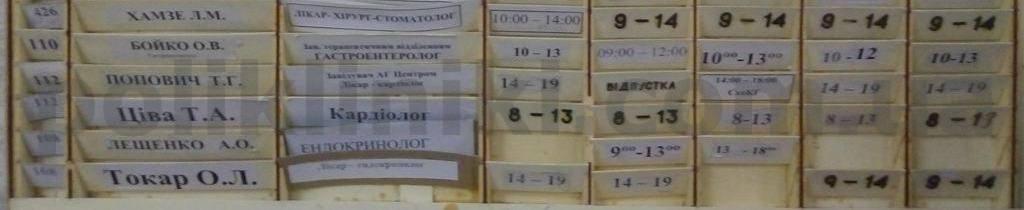 поліклініка вул. Чорнобильська 5/7 Київ