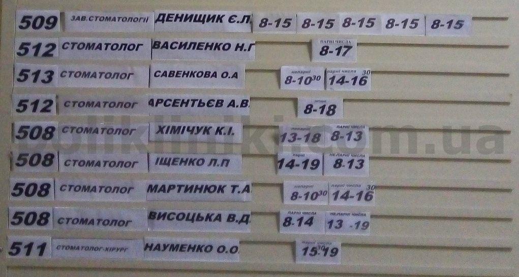 Поліклініка на вул. Булаховського, 26 Святошинський район Києва