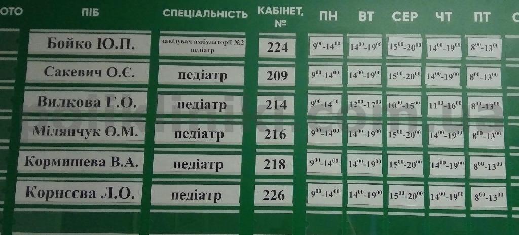 Дитяча поліклініка № 2 Дарницького району Києва