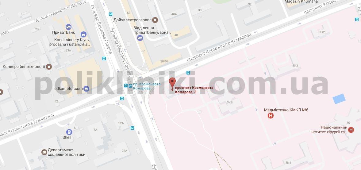 КДЦ Солом'янського району — Філія 1 на мапі гугла