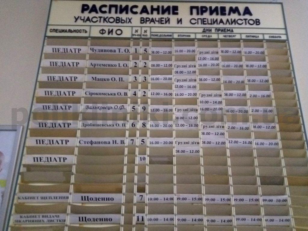 дитяча поліклініка вул. Саксаганського107 Солом'янський район Києва