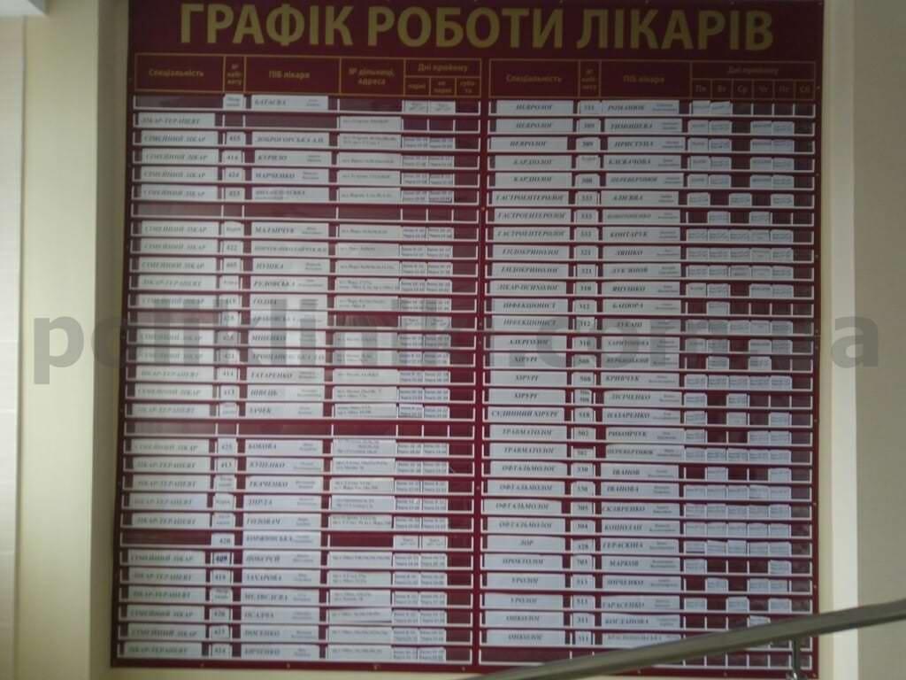 Доросла поліклініка вул. Йорданська 26 Оболонський район Києва