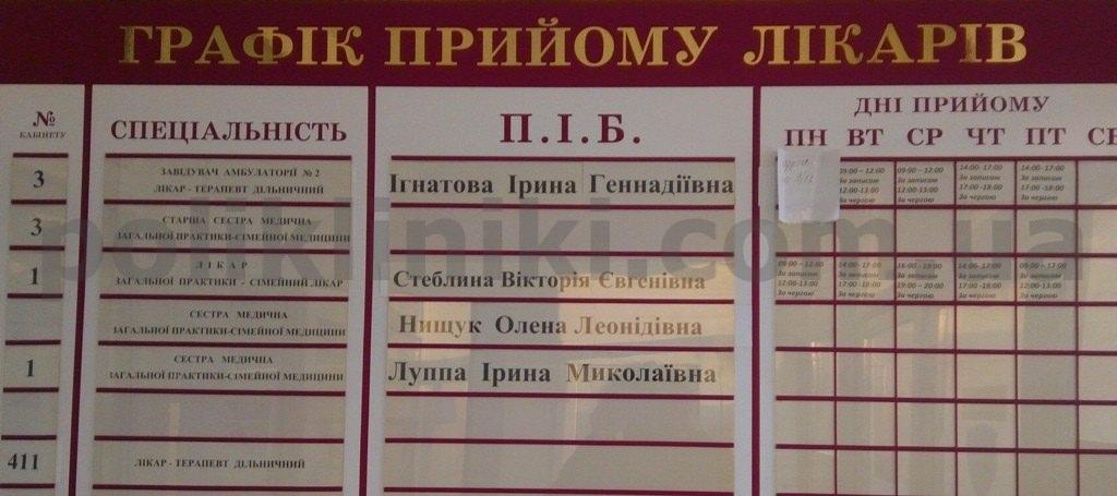 Амбулаторія №5 сімейної медицини dek/ Gsdysxyf 6 Оболонського району Києва
