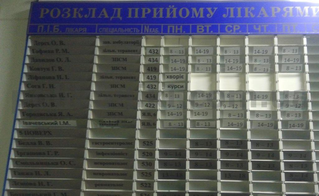 Поліклініка вул. Саксаганського100 Київ