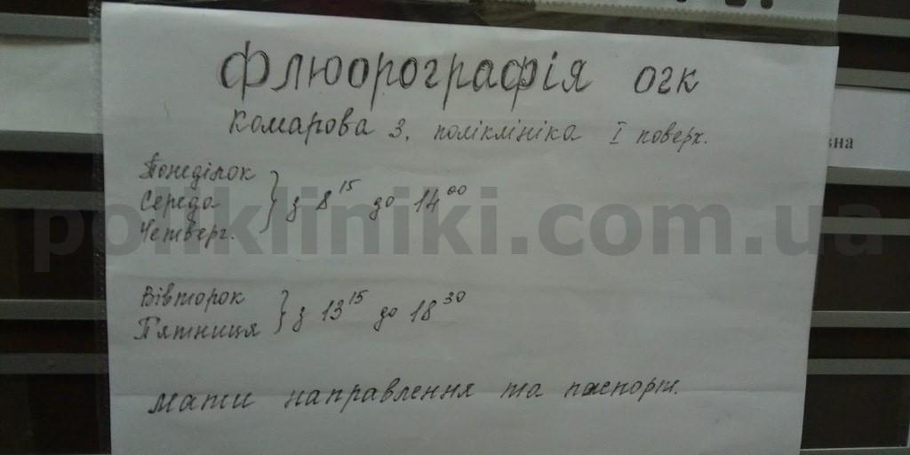 Амбулаторія № 7 КНП ЦПМСМ №1 Солом'янського району м. Києва